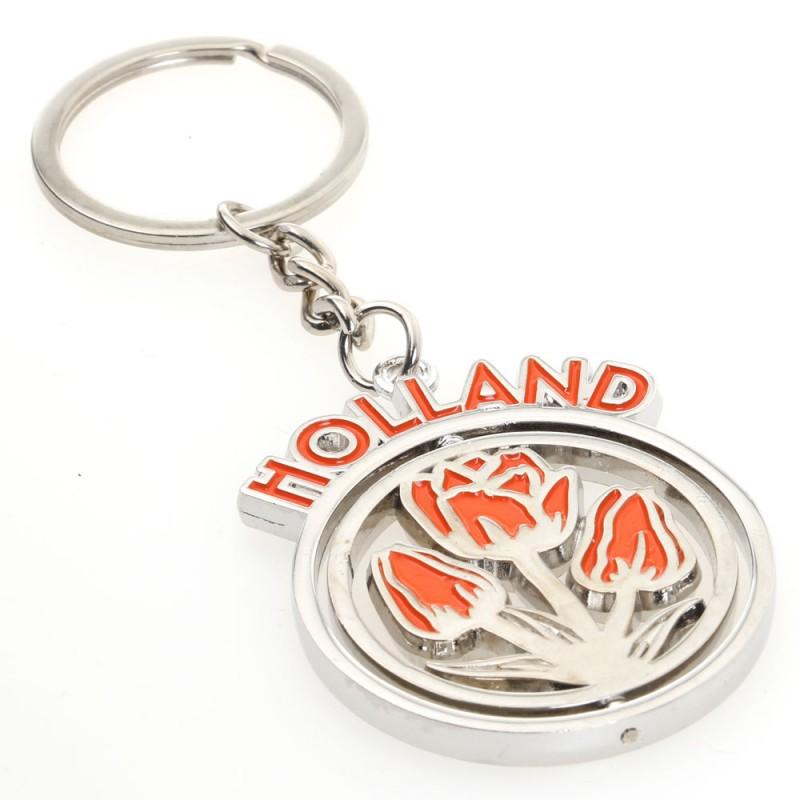 Orange Holland Tulips - Keychain