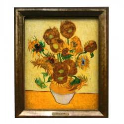 Famous Painters Sunflowers - Van Gogh - 3D MDF