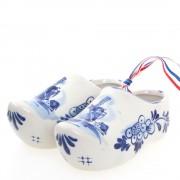 Pair of Ceramic Delft Blue...