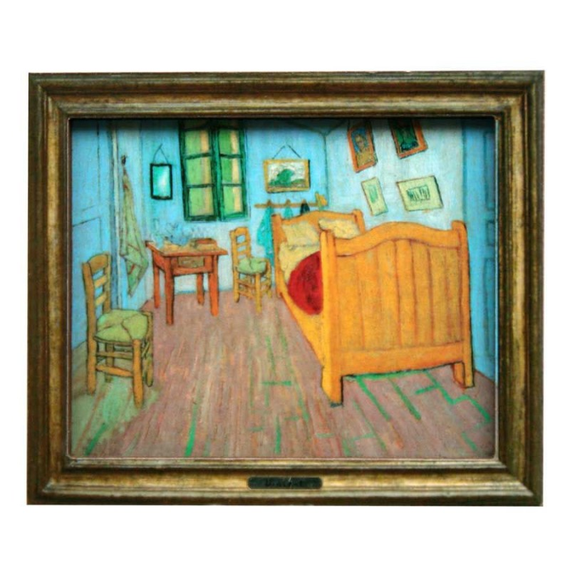 Bedroom - Van Gogh - 3D MDF