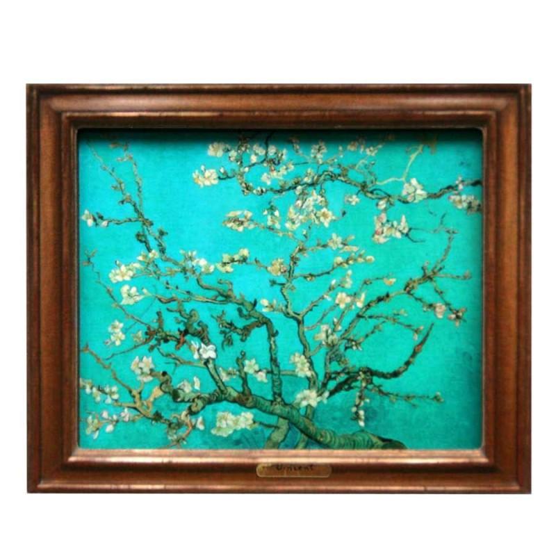 Bekende Schilders Bloesem - Van Gogh - 3D MDF