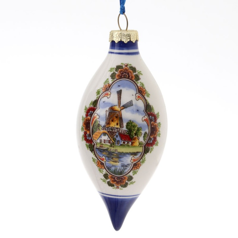 Kerstpegel 10 cm - Windmolen - Kleur