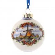 Kerstbal 5 cm - Windmolen -...