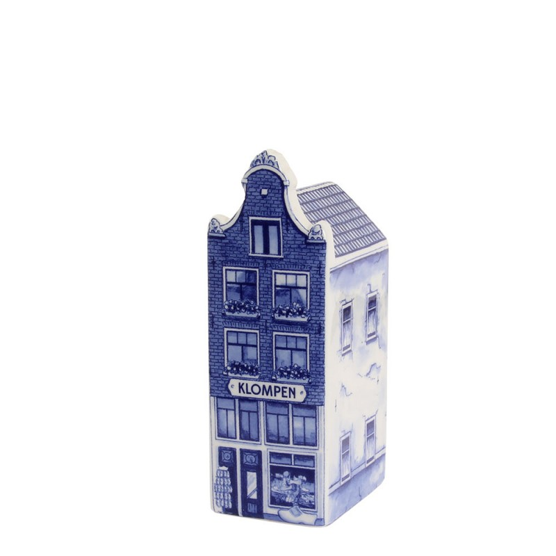 Mini Grachtenpand - Klompen winkel - 8cm