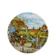 Wall Plate Wooden Shoe Maker - Medium 19cm