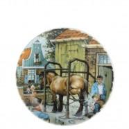 Wall Plate Farrier Shoe Smith - Medium 19cm