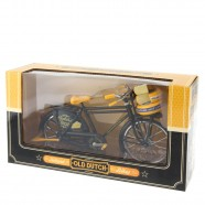 Bicycle Black Cheese - Miniature 23 x 13 cm