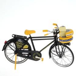 Miniatuur Fiets - Zwart Kaas - 23 x 13 cm