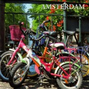 Fietsen Amsterdam - Platte...