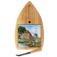 Cheese board and Knife - Barn de Haal Tile
