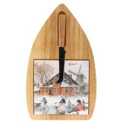 Cheese board and Knife - Farm Alida Hoeve