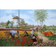 Tulip Pickers - Polychrome...
