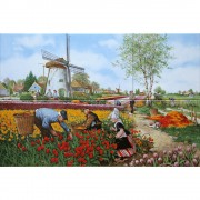 Tulip Pickers - Polychrome...