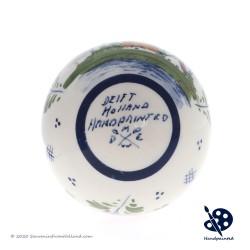X-mas Ball Windmill 5cm - Handpainted - Polychrome