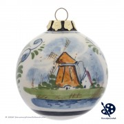 X-mas Ball Windmill 6,5cm -...