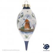 Kerstpegel Molen 11,5cm -...