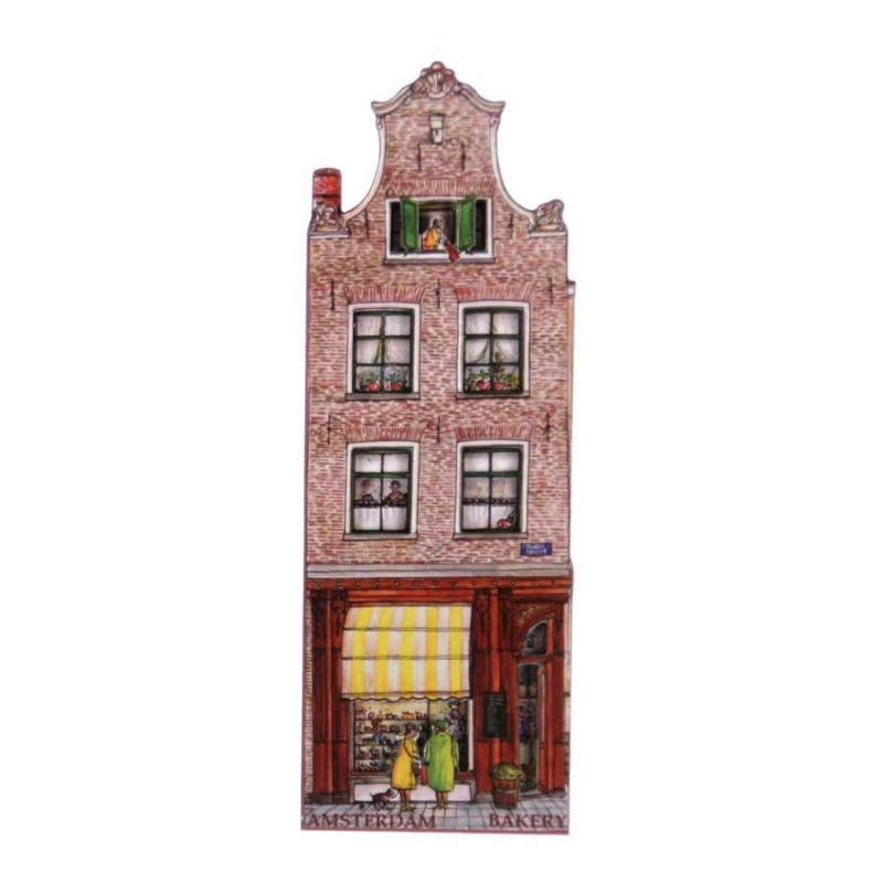 Canal Houses 2D MDF Bakery Holtkamp - Magnet - Canal House