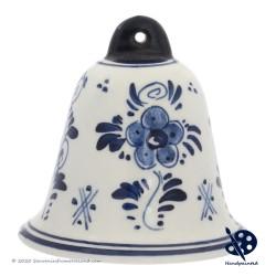 X-mas Bell Windmill 6,5cm - Handpainted Delft Blue