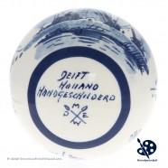 X-mas Dripball Windmill 11,5cm - Handpainted Delft Blue