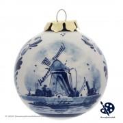 Kerstbal Windmolen 6,5cm -...