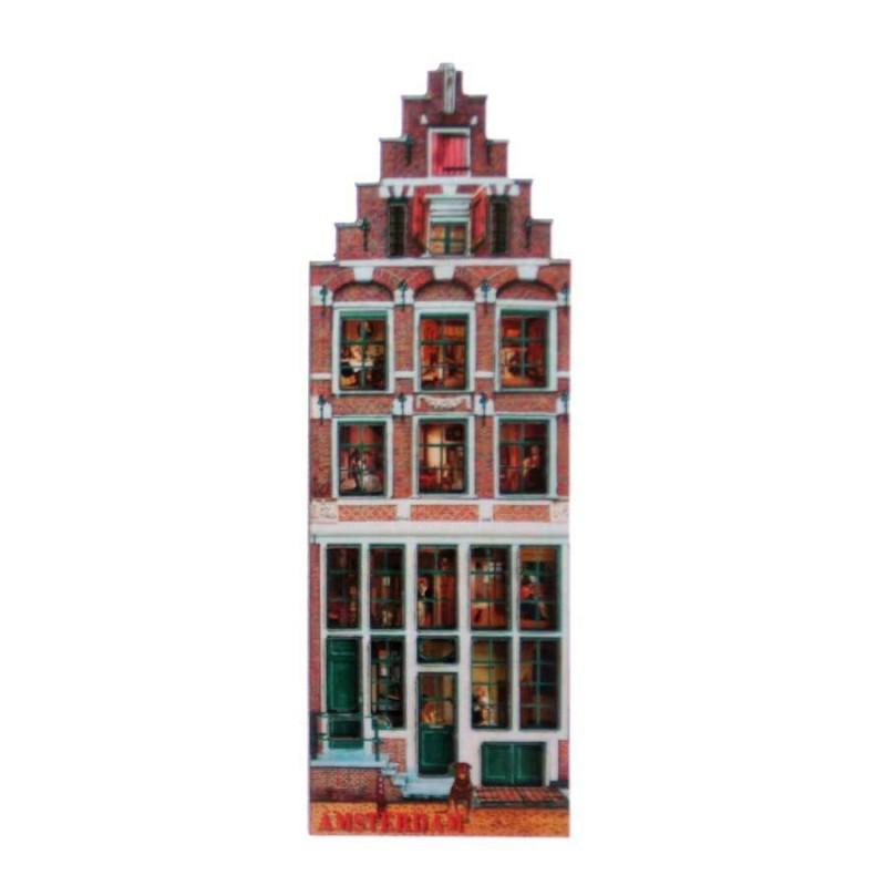 Canal Houses 2D MDF Egelantiershouse - Magnet - Canal House