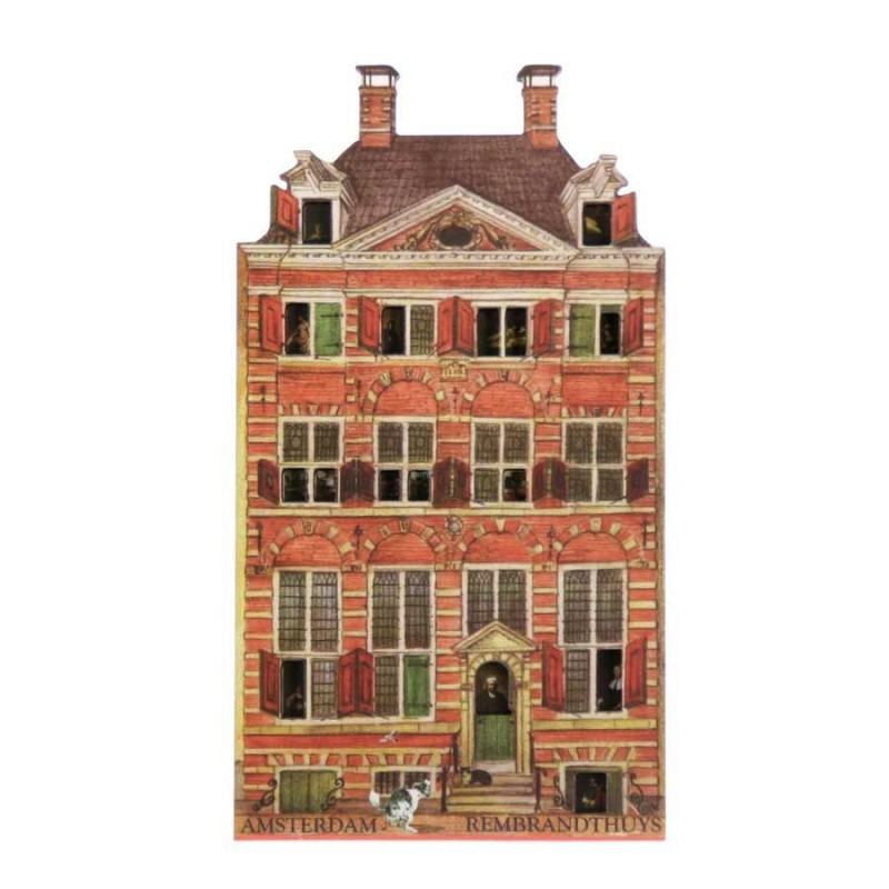 Rembrandthuis - Magneet - Grachtenhuis