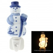 Snowman Night Wall Light -...