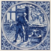 The Blacksmith - Jan Luyken...