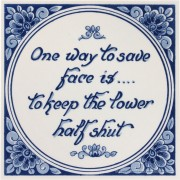 Inspirational tile - One...