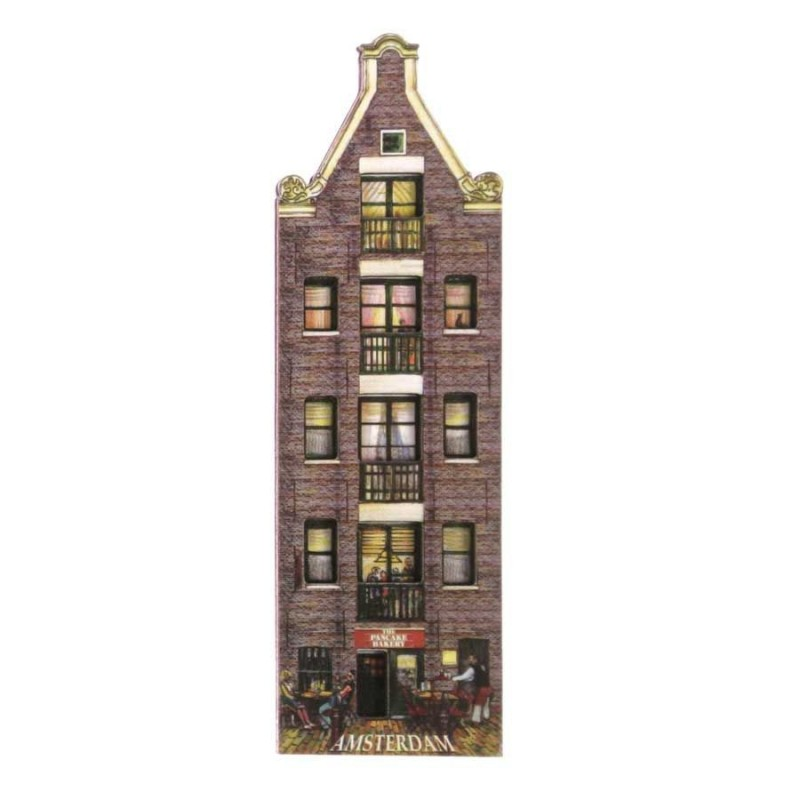 Canal Houses 2D MDF Pancake Bakery - Magnet - Canal House