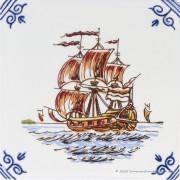 Zeilschip 2 Gouden Eeuw -...