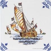 Zeilboot 1 - Gekleurde...