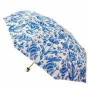 Delft Blue Tulips Umbrella