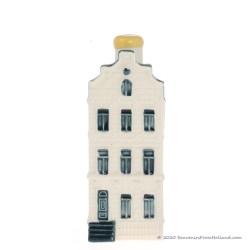 KLM miniatuur huisje nummer 45 - Delfts Blauw