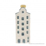 KLM miniatuur huisje nummer 33 - Delfts Blauw