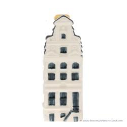KLM miniatuur huisje nummer 69 - Delfts Blauw
