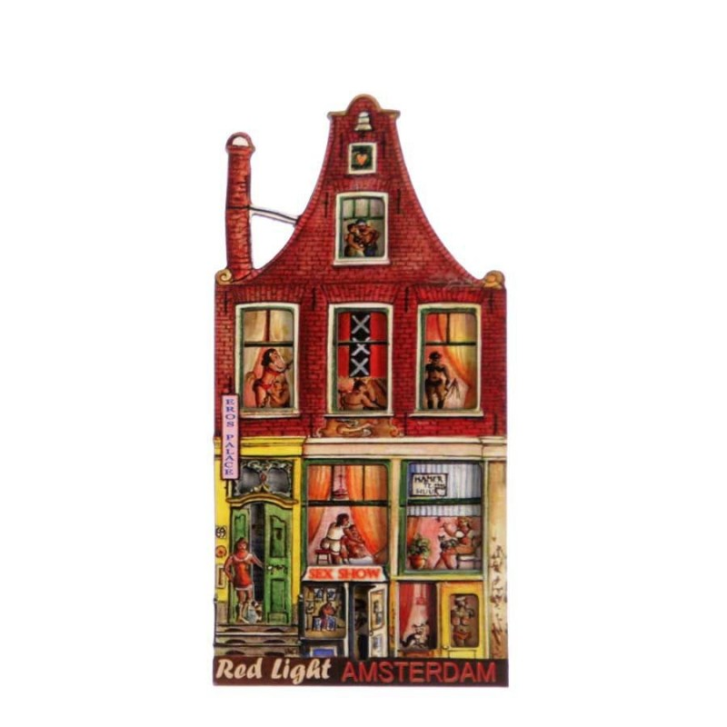 Canal Houses 2D MDF Eros Palace - Magnet - Canal House
