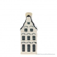 KLM miniatuur huisje nummer 17 - Delfts Blauw