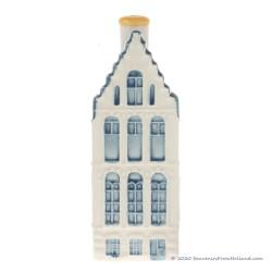 KLM miniatuur huisje nummer 52 - Delfts Blauw