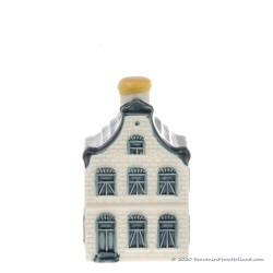 KLM miniatuur huisje nummer 5 - Delfts Blauw