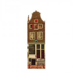 Huis met 2 Deuren - Magneet - Grachtenhuis