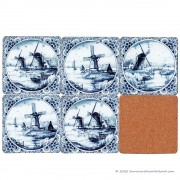Delft Blue Coasters...
