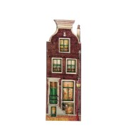 Canal Houses 2D MDF House with Lantern - Magnet - Canal House
