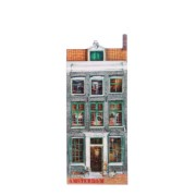 Canal Houses 2D MDF Jacob Hooy - Magnet - Canal House