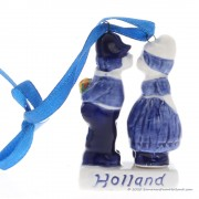 Kussend paar Holland -...