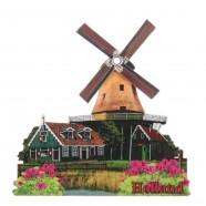 Windmills 2D Windmill Kievit - with rotating sails - Magnet