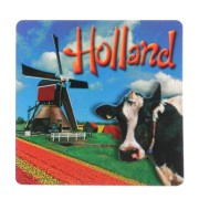 Holland Koe Molen - Holland 2D Magneet