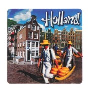 Holland Cheese Carriers - Holland 2D Magnet