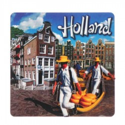 Cheese Carriers - Holland 2D Magnet