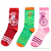 Socks Bicycle 3-pack - Size...